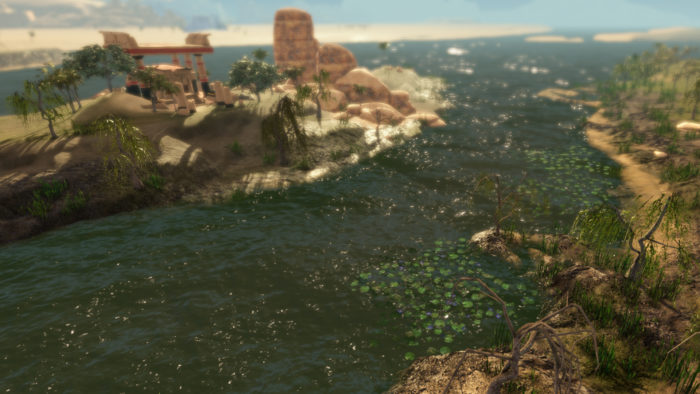 ancient egypt city builder river nile