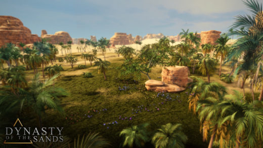 Picture of plants and trees in Ancient Egypt City Builder